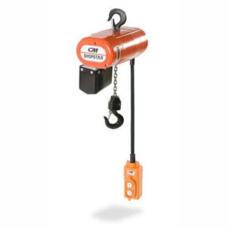 CM ShopStar Electric Chain Hoist (Single Phase)