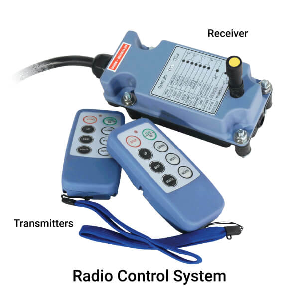 INMOTION Classic Lite Radio Control System Specifications