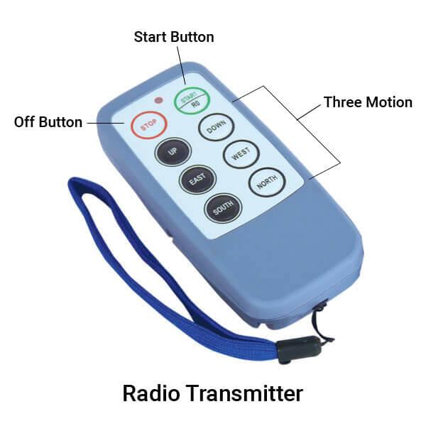INMOTION Classc Lite Radio Transmitter Specifications