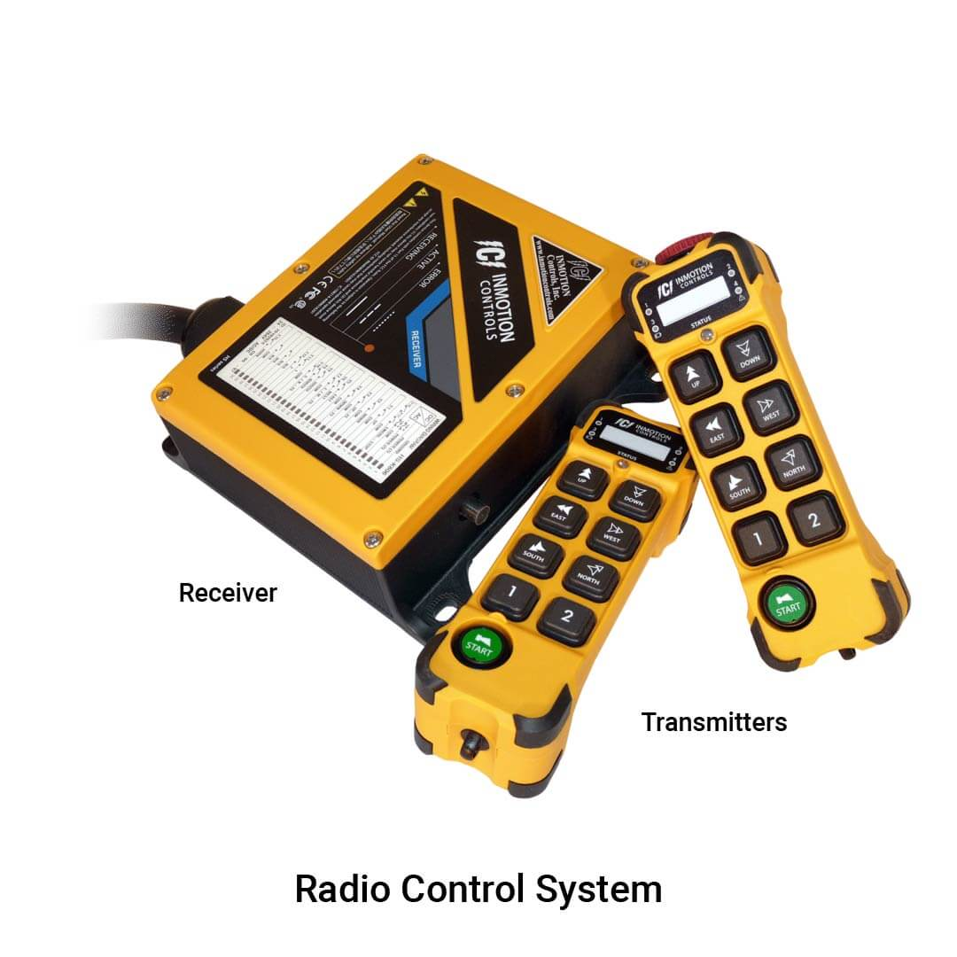 INMOTION K Series Radio Control System Specifications