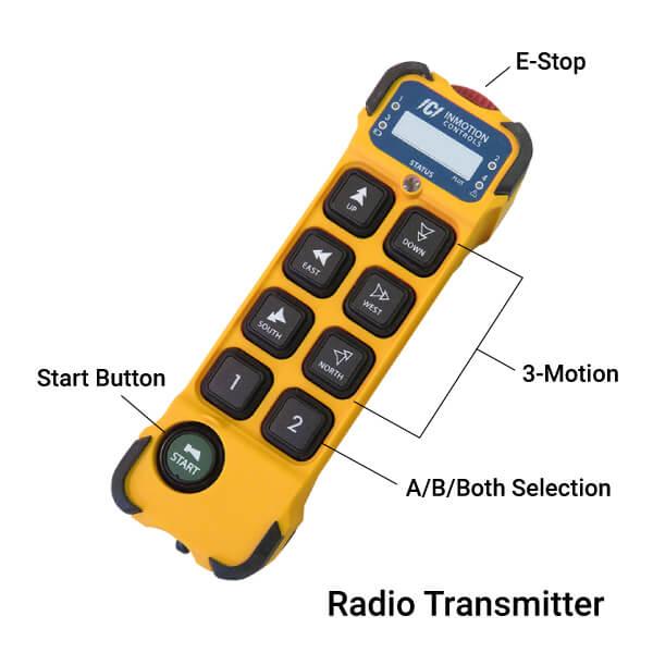 INMOTION K Plus Series Radio Transmitter Specifications