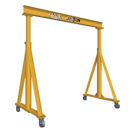 PWI Telescoping Gantry Crane