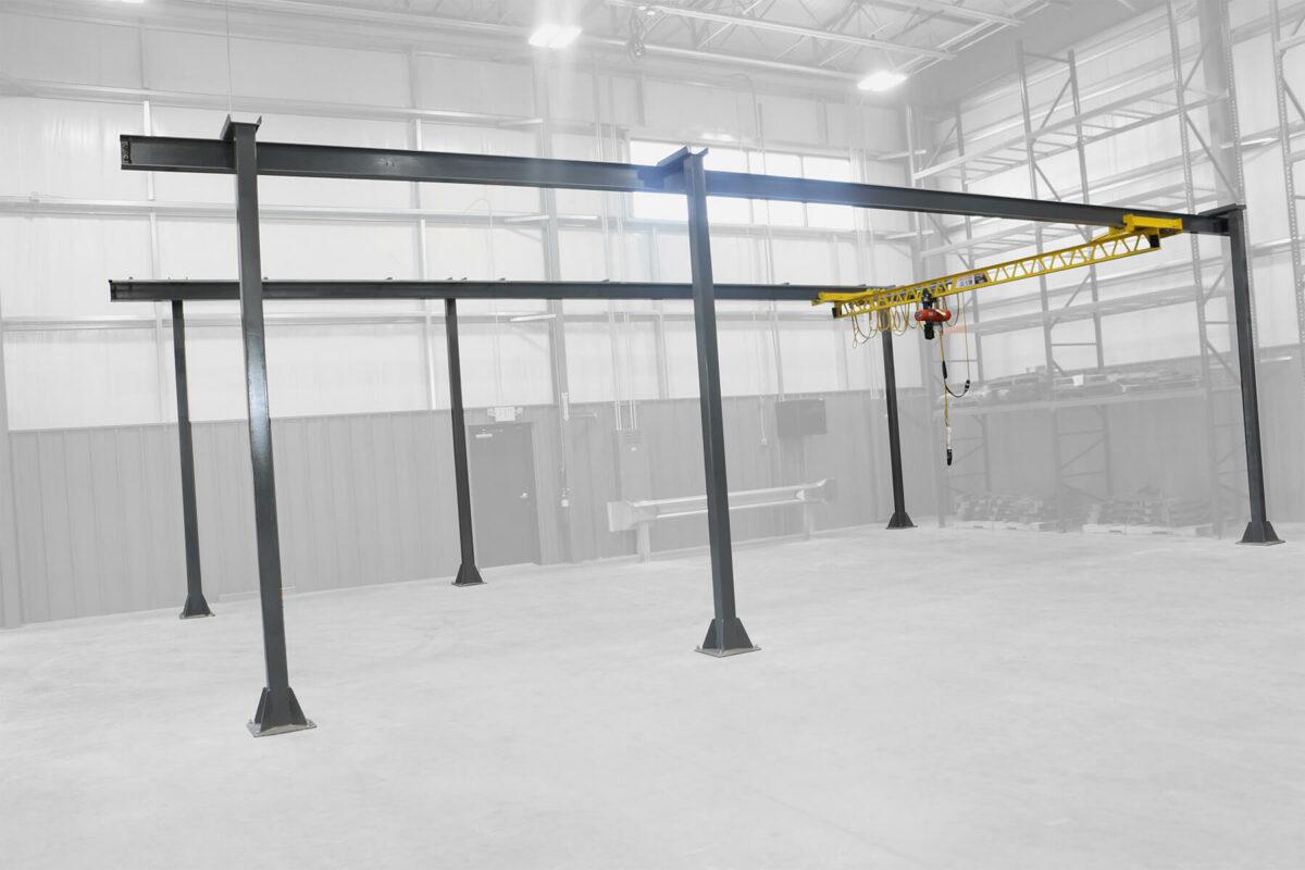 Ultra-Lite Freestanding Bridge Crane