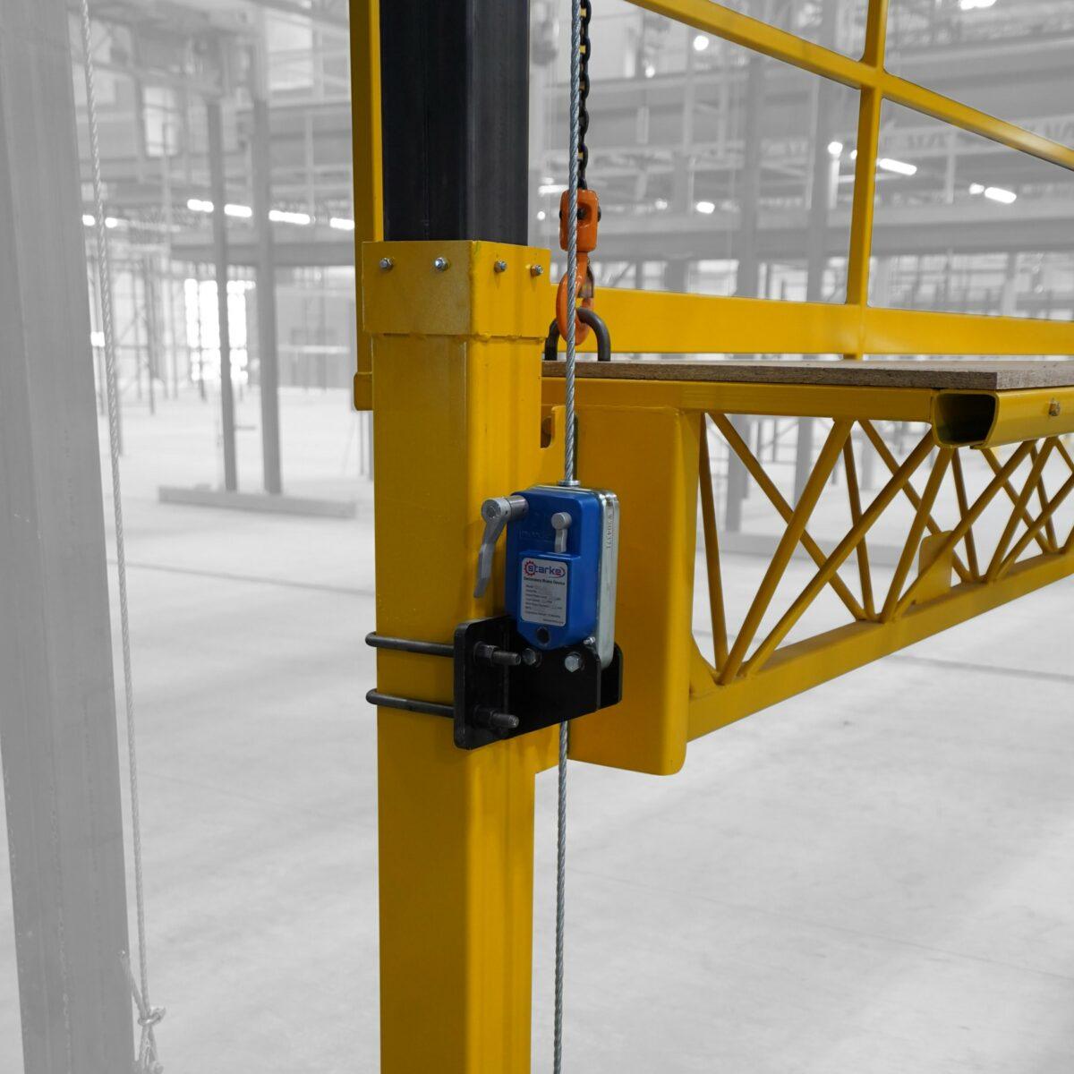 Secondary Brake Device Work Platform