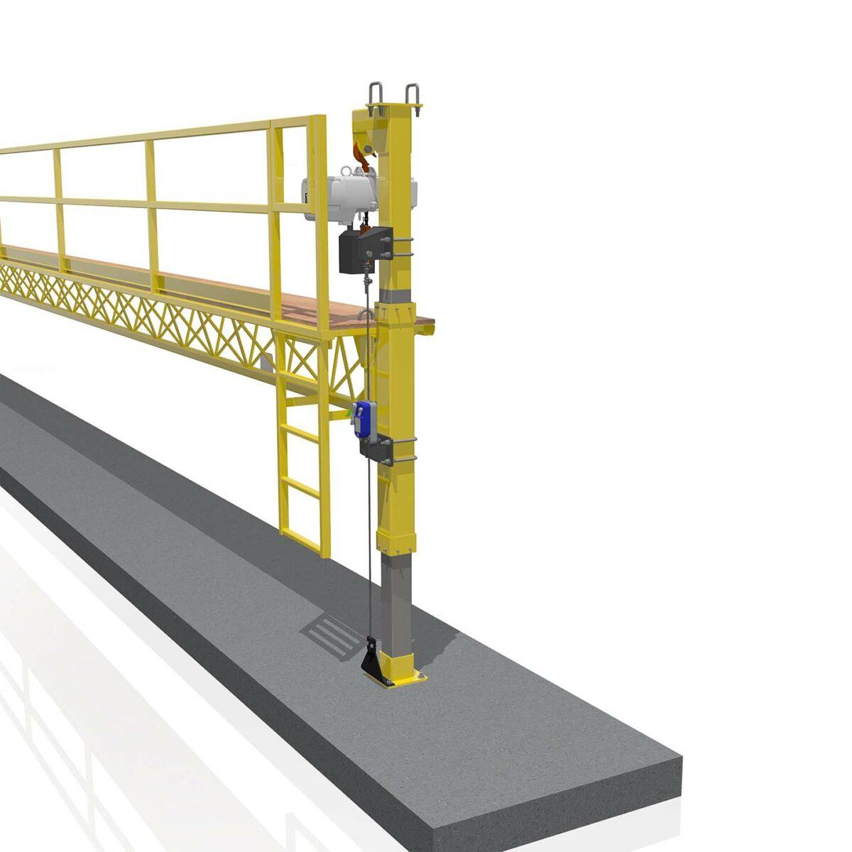 Starke Secondary Brake Device Platform Assembly