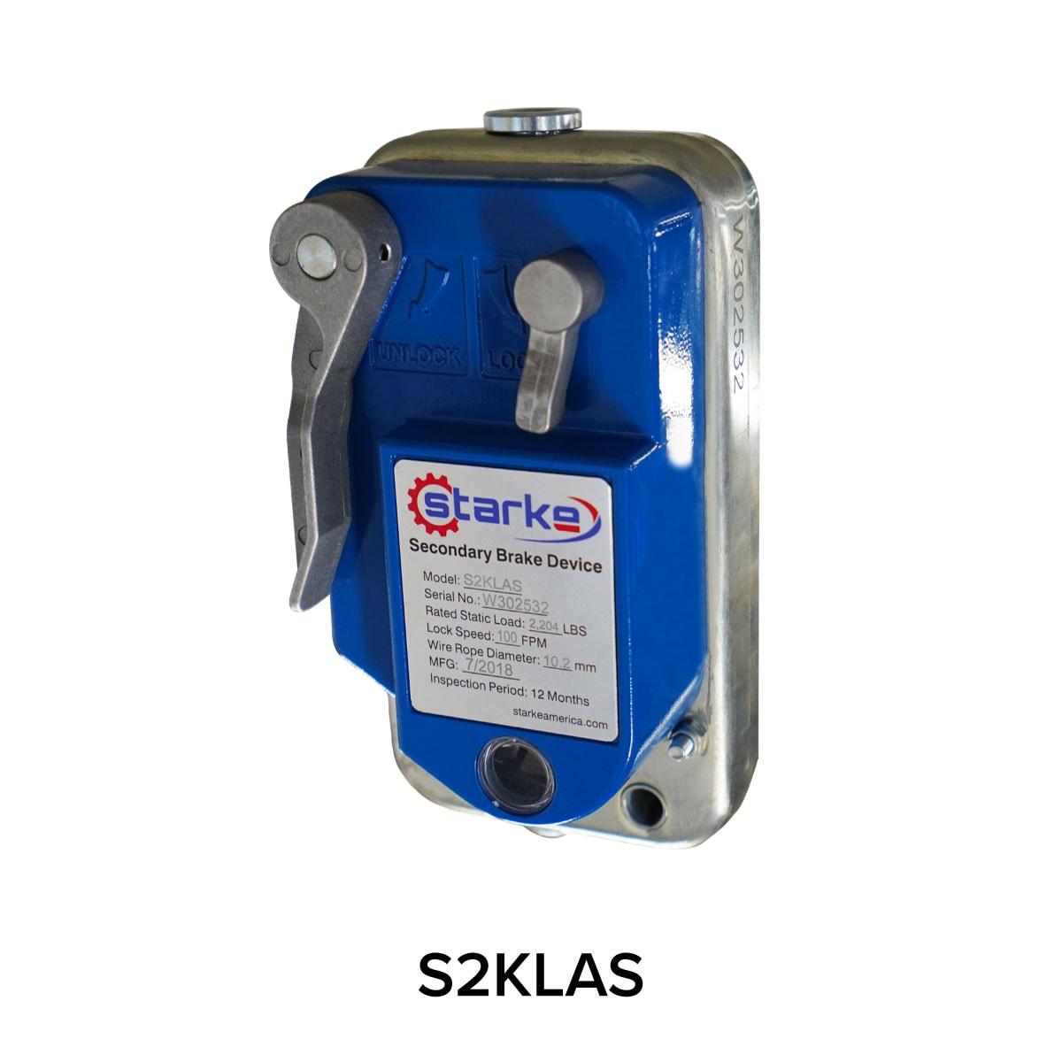 Starke Secondary Brake Device S2KLAS