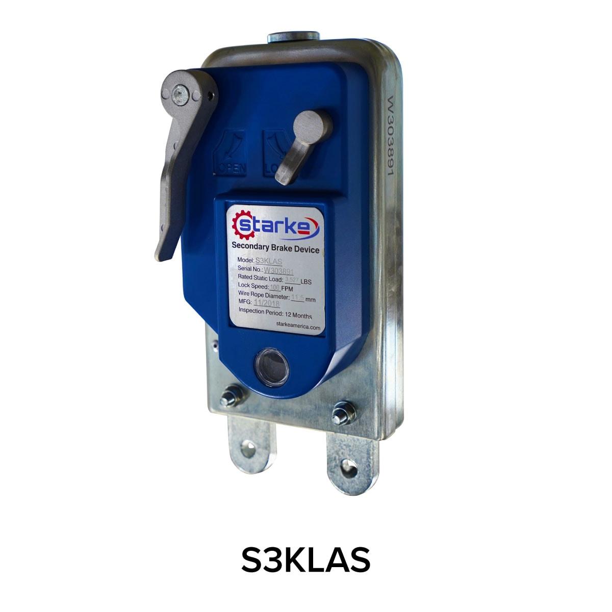 Starke Secondary Brake Device S3KLAS